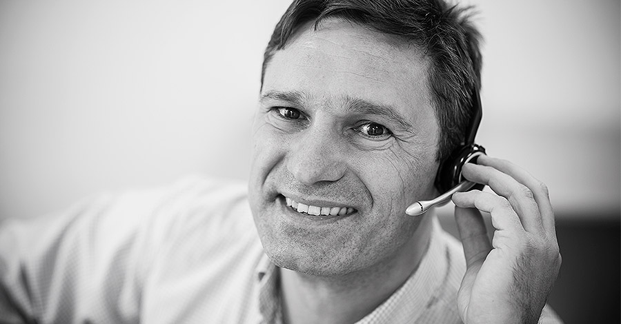 Geschäftsführer Peter Schuhmacher von EasyData. © Detlef Heese